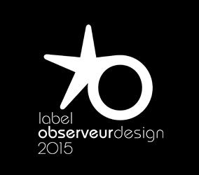 Label Observeur du Design 2015